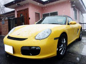 ポルシェ ボクスターの売却なら、湘南から沖縄、千葉、宮崎、埼玉までスピード査定で即日現金買取可能な、車買取りハッピーカーズへ