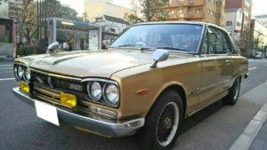 ハコスカを中心とした旧車も即日金額提示可能です