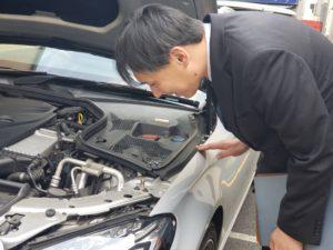 自動車整備士の資格を持っています!