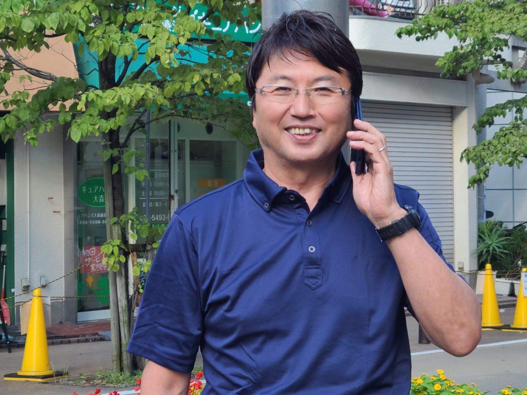 車買取ハッピーカーズ広島店の藤岡聡